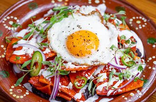 Mexican brunch at Petty Cash Taqueria in Los Angeles