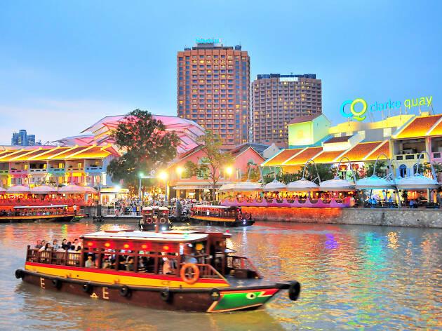Singapore River Cruise, Clarke Quay