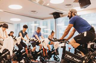 Pure Fitness, RealRyder, spin class