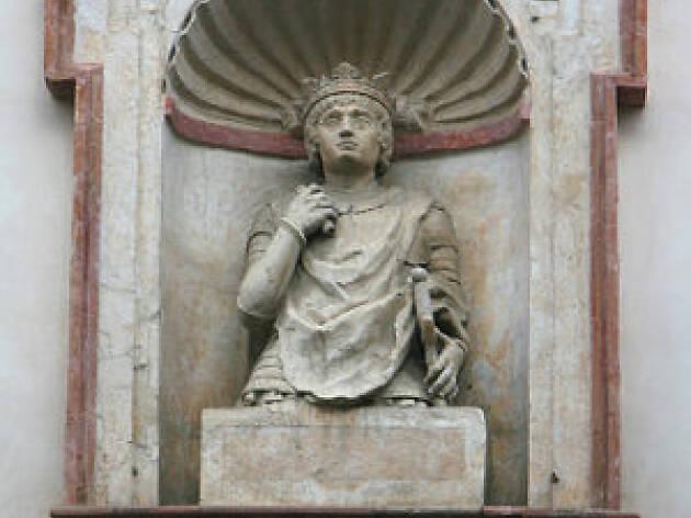 Cabeza rey Sevilla