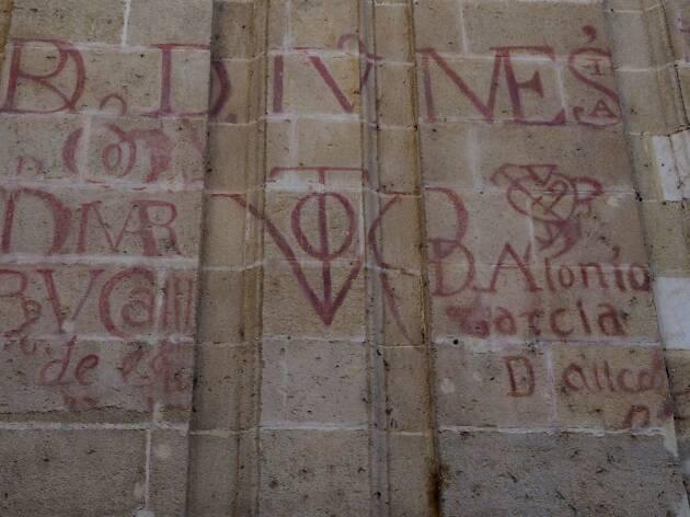 Grafiti Catedral Sevilla