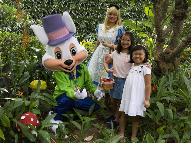 Easter Wonderland with Alice and Friends at Melt Cafe
