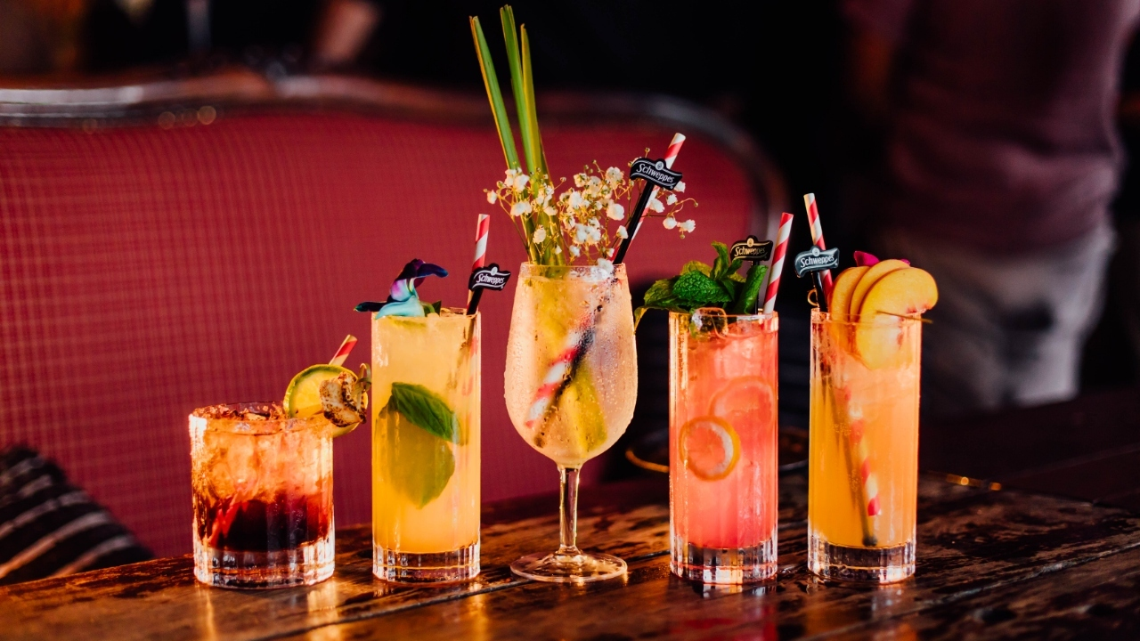 Five must-try cocktails at the Winery's Bar Schweppes pop-up this month