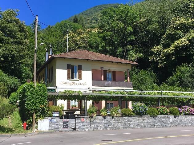 Osteria Ferriroli, Ascona Locarno campaign