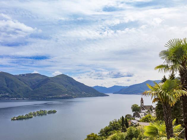 Brissago Islands, Lake Maggiore, for Ascona Locarno campaign