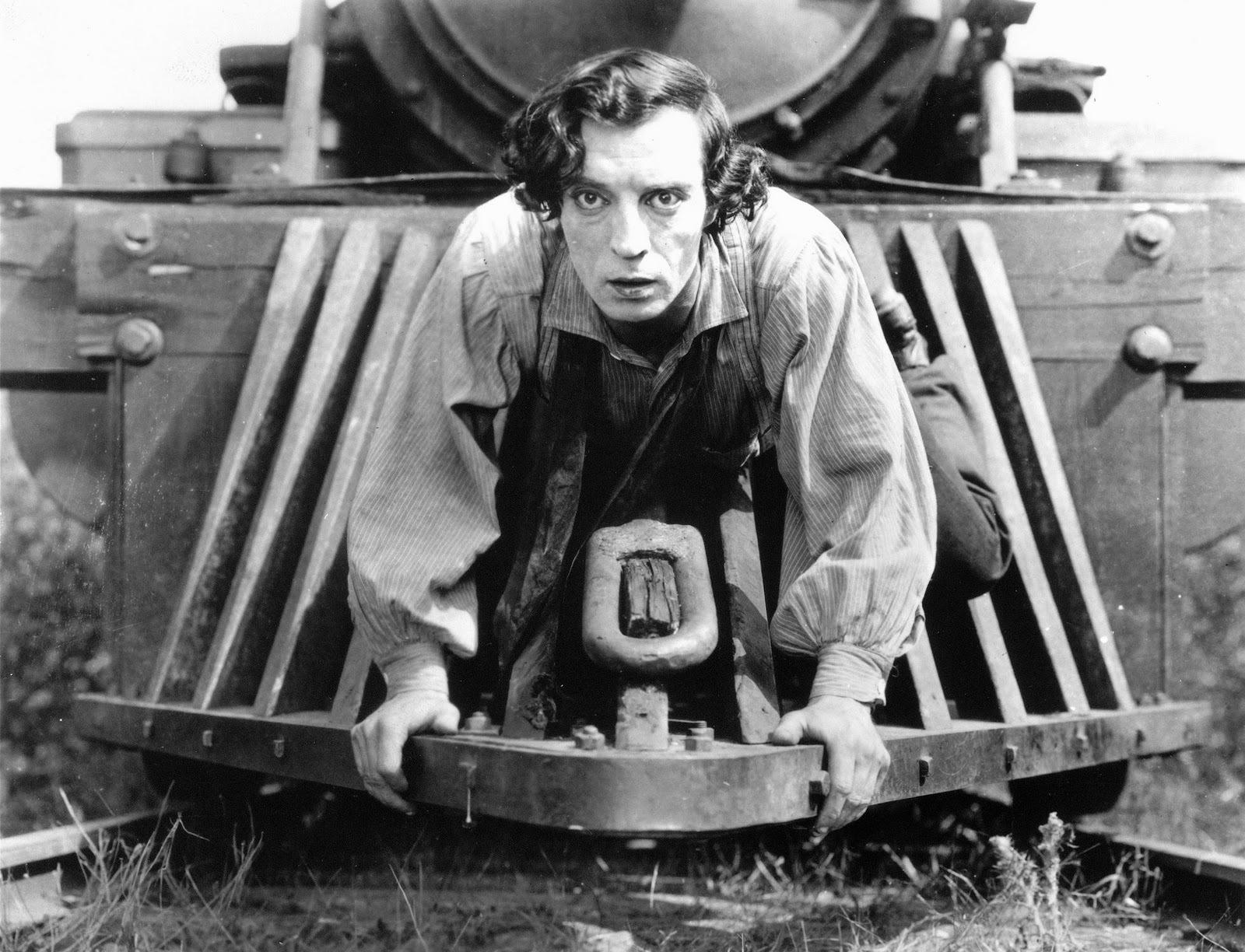 Buster Keaton a 'El maquinista de la general'