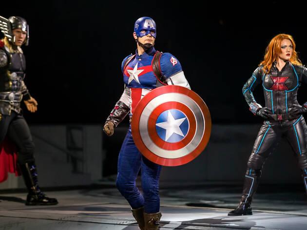 Marvel Universe Live! en el Palacio de los Deportes