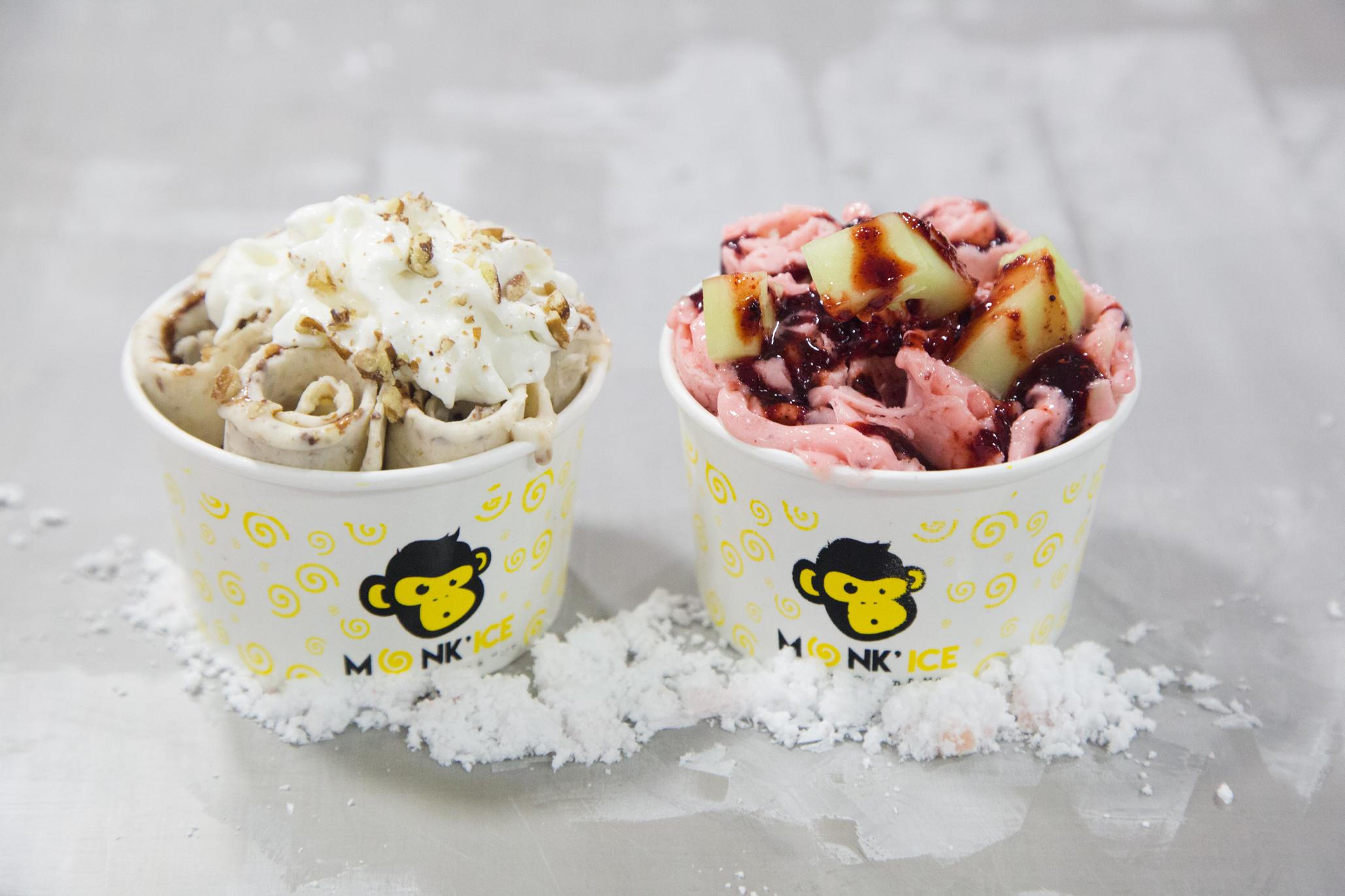 Monk Ice, rollos de helado tailandeses en la CDMX