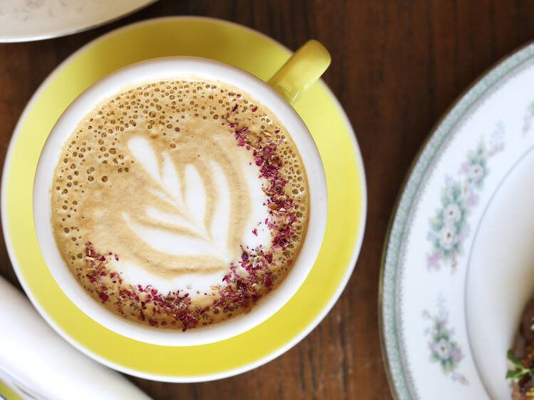 Get your pumpkin spice fix at a local coffee shop