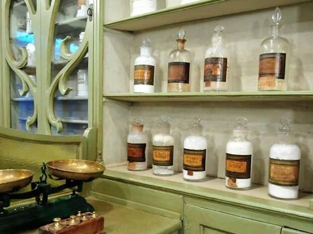 Museu de la Farmàcia Codina Caldes de Monbui