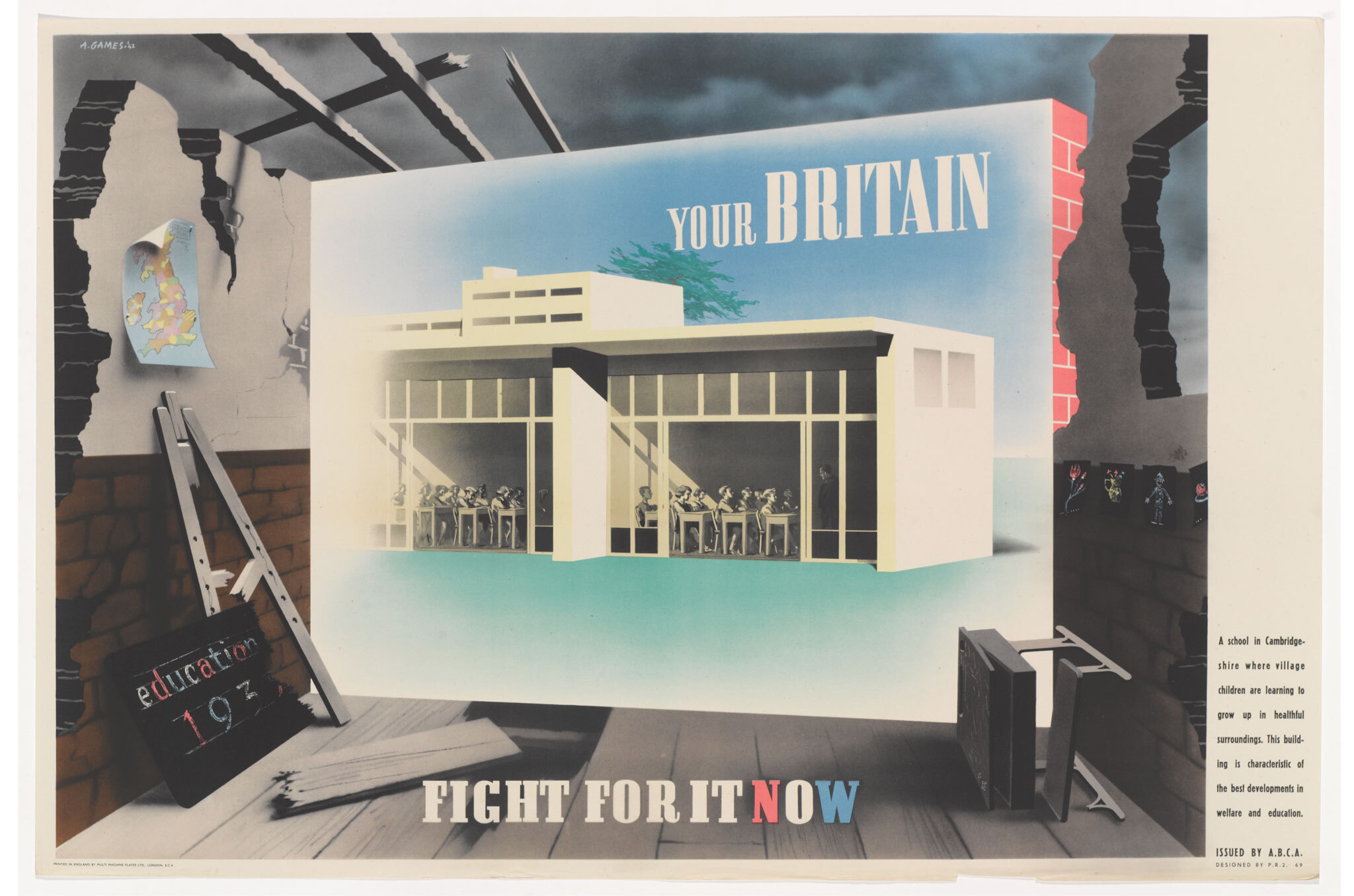 The art of persuasion: Wartime posters by Abram Games