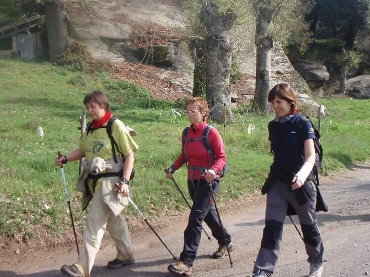Iniciació al 'nordic walking'