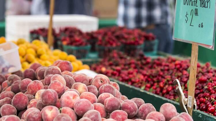 Produce at a San Francisco Farmers' Market