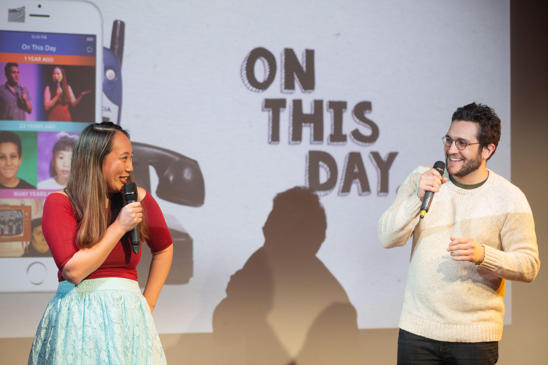 Angel Yau and Ross Brunetti