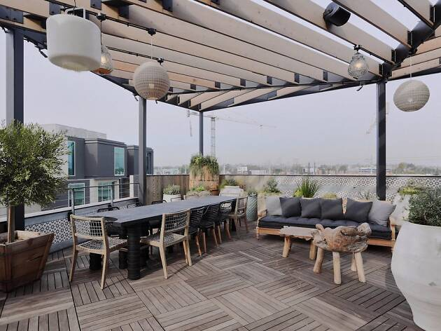 Margot rooftop restaurant and bar in Culver City PLATFORM Los Angeles