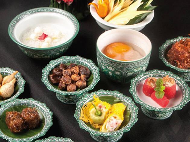 khao chae, Celadon The Sukhothai