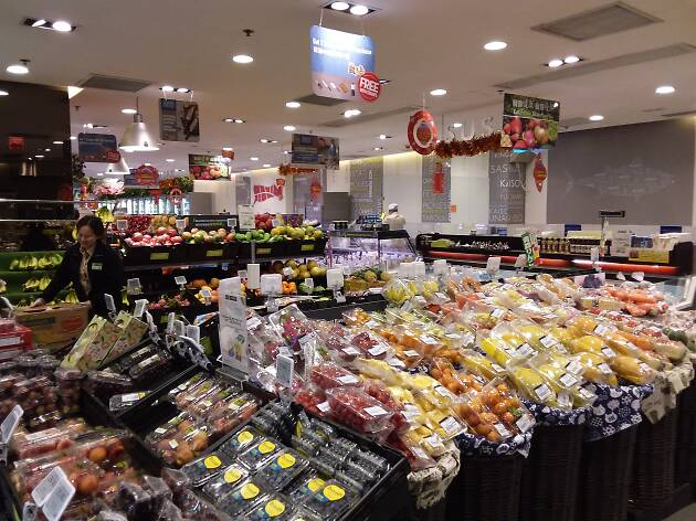 Fusion supermarket
