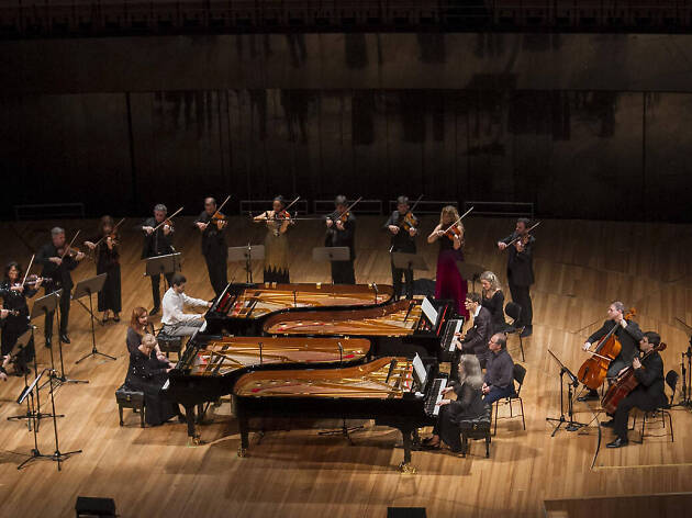 4 pianos de Bach en un concierto extraordinario