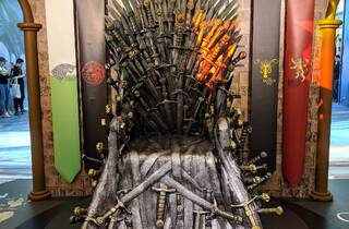 Game of Thrones exhibition iron throne