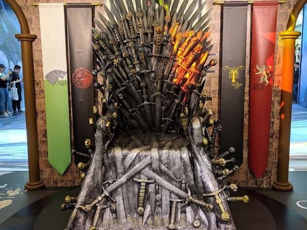 Game of Thrones exhibition iron throne