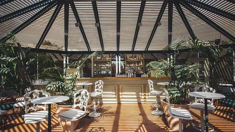 Terrassa Jardín Diana, hotel El Palace