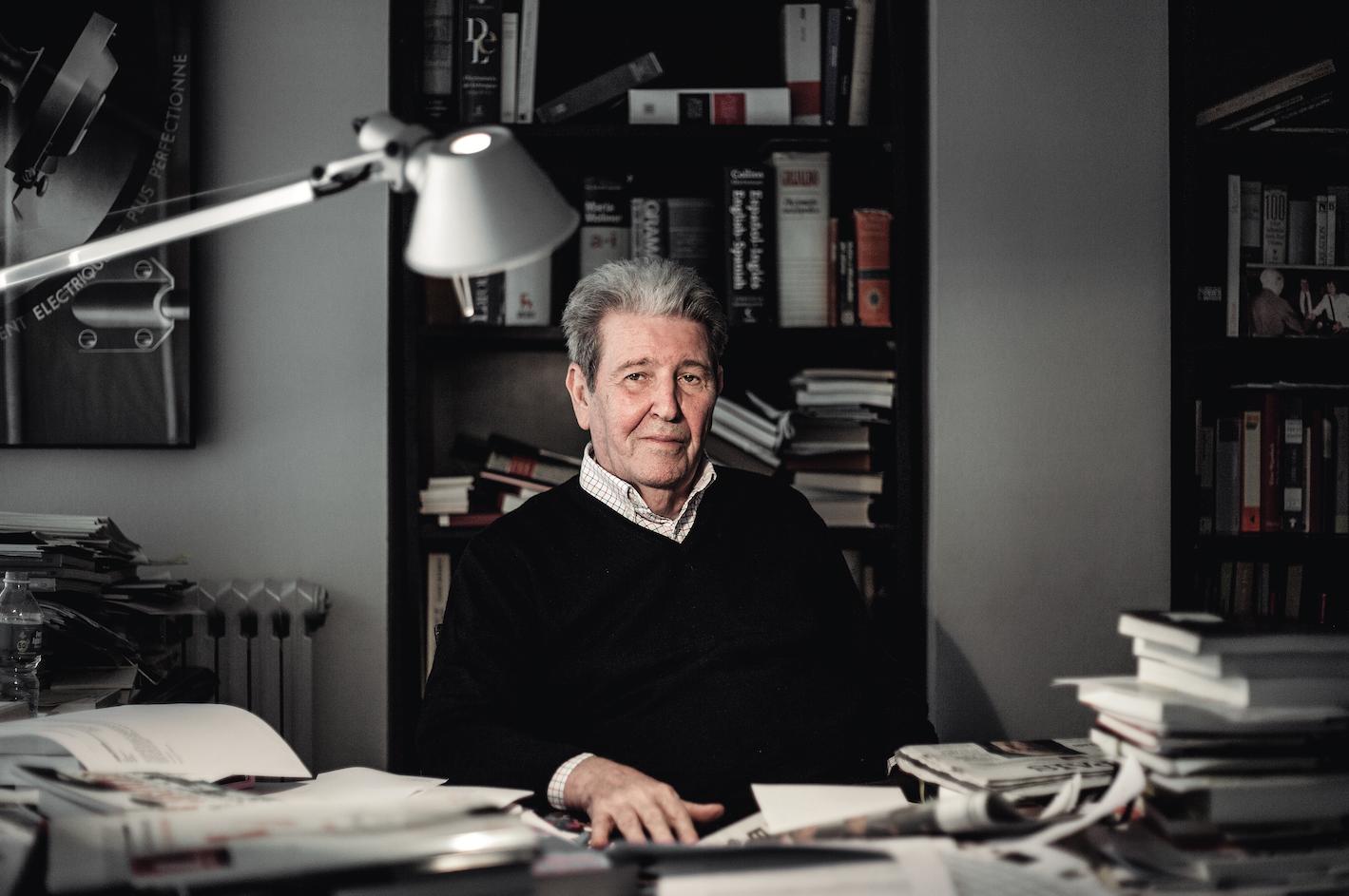 Jorge Herralde, el 'boss' de l'edició
