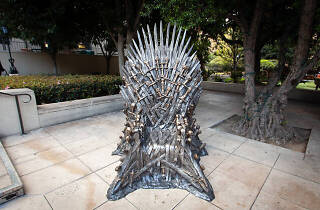 You can sit on the Iron Throne from 'Game of Thrones' at King's Cross next week