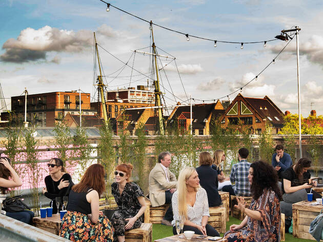 The Dock. Tobacco Dock Wapping London.