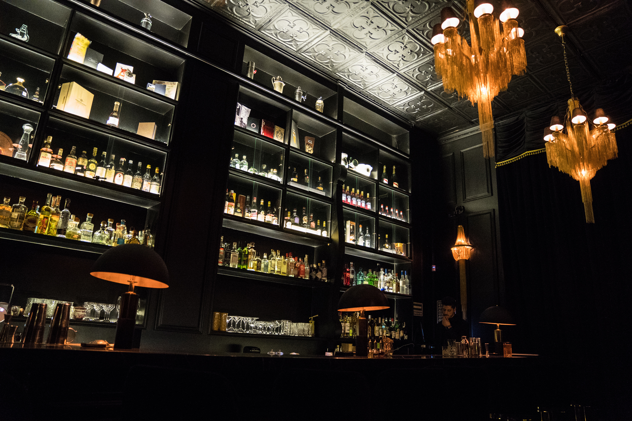 Handshake Speakeasy, el bar secreto de Masaryk