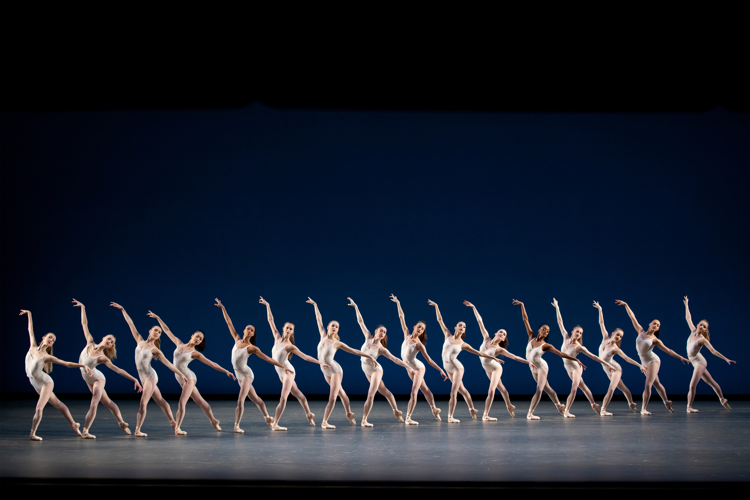 New York City Ballet in George Balanchine's Symphony in Three Movements