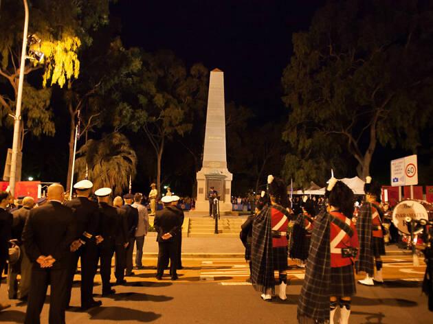 ANZAC Day Dawn Service at Parramatta
