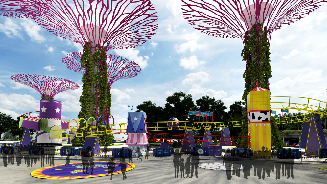Gardens by the Bay's Children's Festival invites you into the world of Disney•Pixar's Toy Story 4