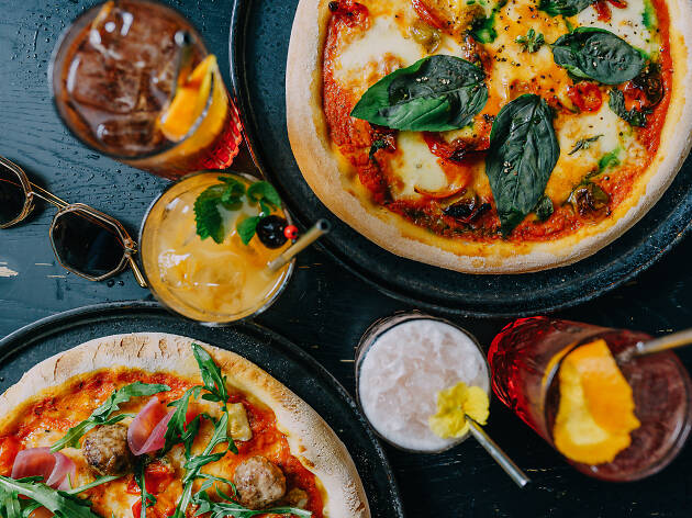 Trinket Bar is launching bottomless pizza and cocktails