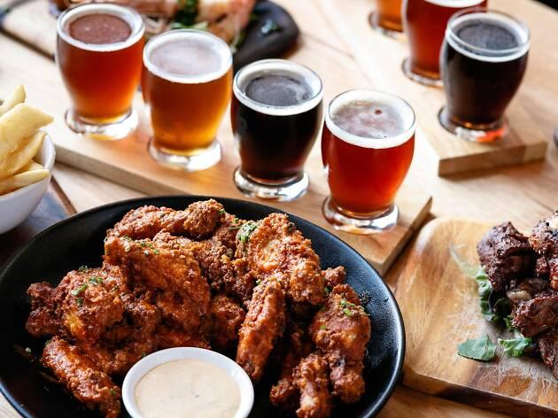 Ballarat Beer Hop flight