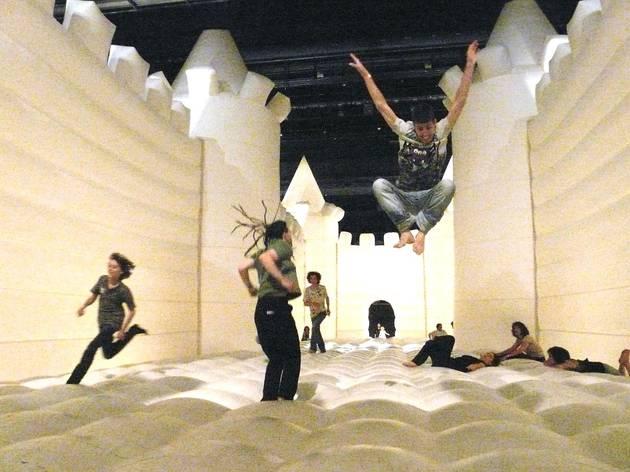 White Bouncy Castle