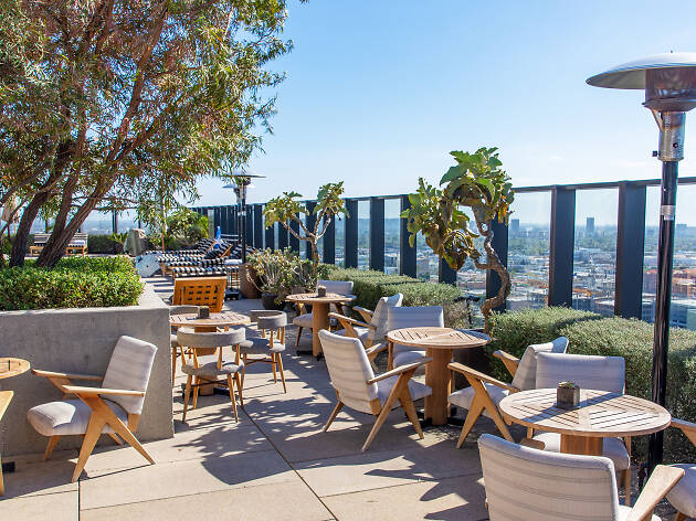 Sorra rooftop bar and restaurant in Hollywood from the Hinoki and the Bird team