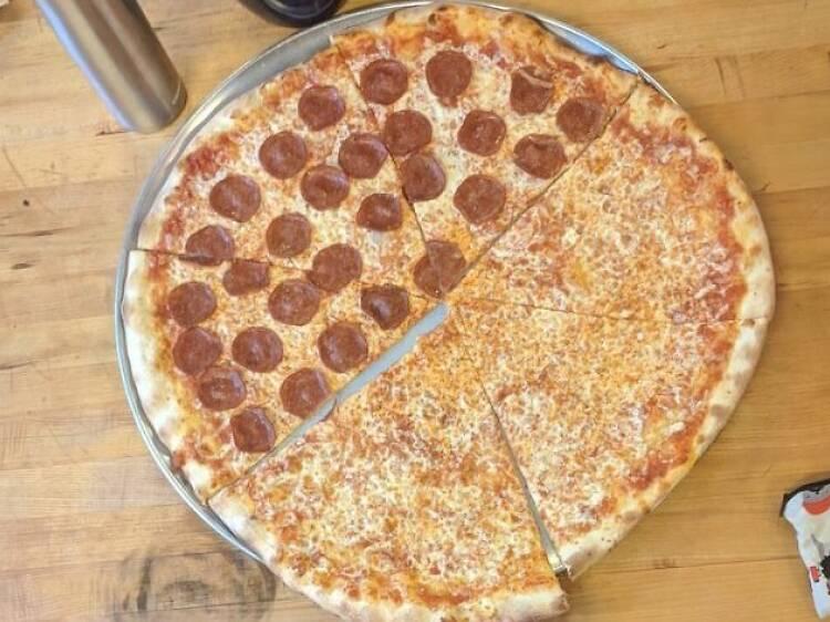 The $4.50 slices at Adamo Pizza
