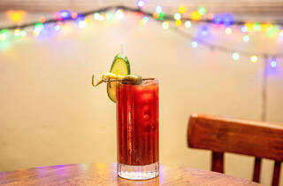 Bloody mary cocktail at Marrickville Hotel