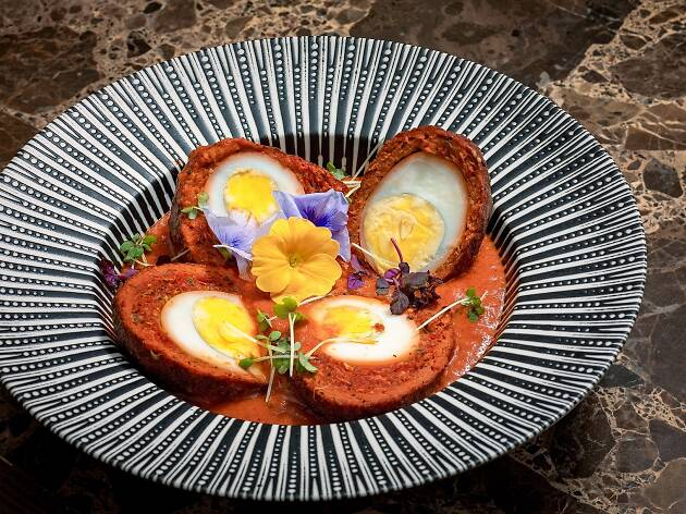 Chaiwala Scotch eggs