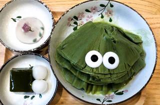 Ice Cream Monster at Roji Monster Cafe
