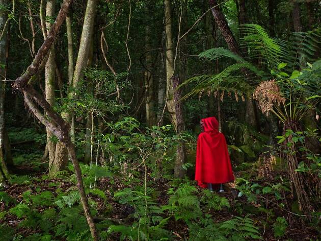Damian Castaldi & Solange Kershaw, 'Into the Woods Red Mountain Hood' Sculpture at Scenic