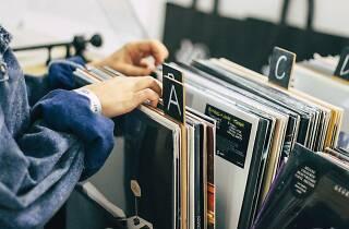 vinyls, record stores