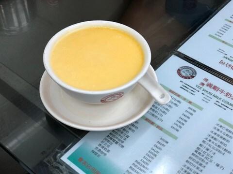 Steamed egg pudding