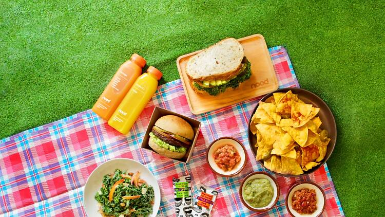nood food Easter picnic
