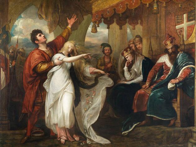 Cena V do Acto IV de Hamlet