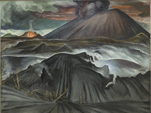 Paricutin y sus lomas de arena