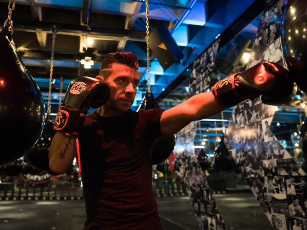 JC Chávez Boxing Studio (Foto: Alejandra Carbajal)