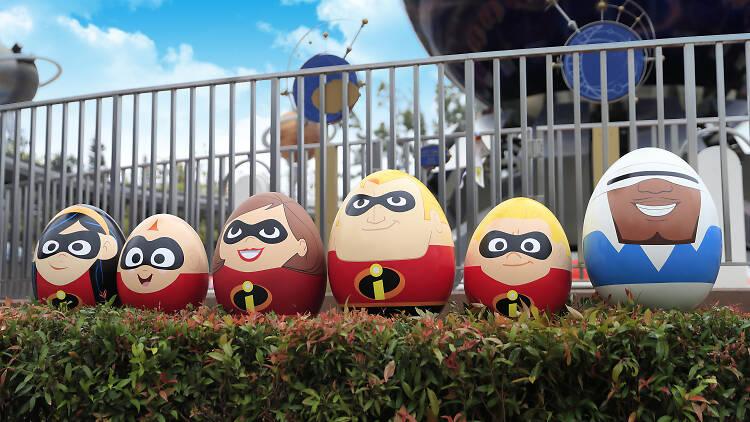 Disney Carnivale of Stars eggs