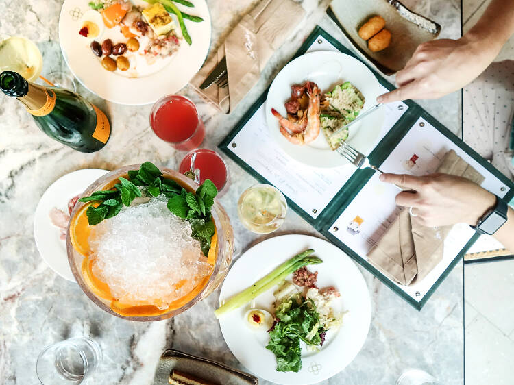 La Rambla:合家歡西班牙美食