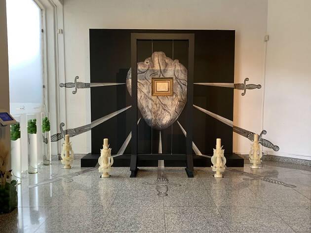 Altar de dolores en Museo Soumaya